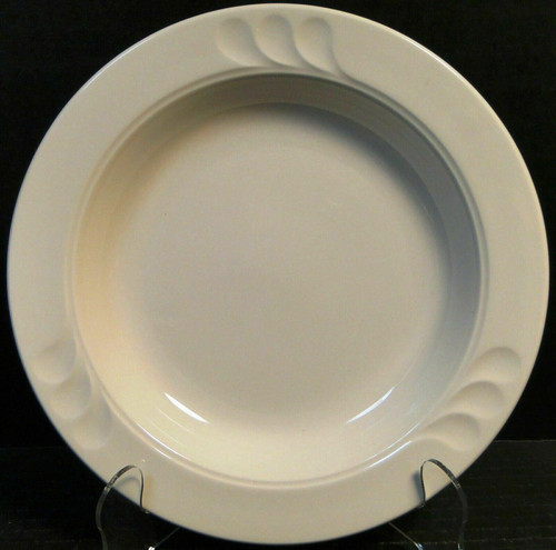 "Syracuse China Stylus Rim Soup Bowl 8 1/2"" Restaurant Ware 