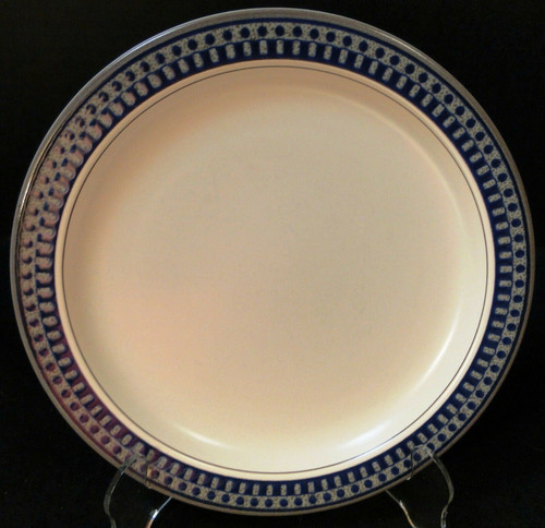 "Mikasa Aztec Blue Salad Plate 8 1/4"" CB009 Potters Touch 