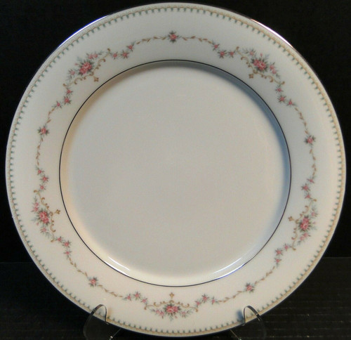 "Noritake Fairmont Salad Plate 6102 8 1/4"" Pink Roses Excellent"