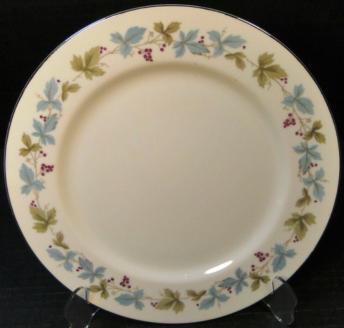 "Fine China of Japan Vintage Dinner Plate 10 1/4"" 6701 Ivy 