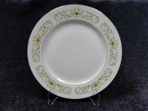 Fine China Japan Florentine Dinner Plate 10 1/2"
