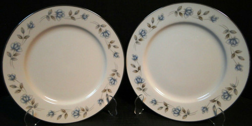 """International China Elegant Lady Dinner Plates  10 1/4"""" Set of 2   DR Vintage Dinnerware and Replacements"""