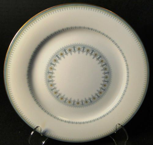 "Noritake Maya Salad Plate 8 1/4"" 6213 Blue Green Geometric | DR Vintage Dinnerware and Replacements"