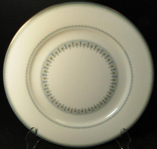 "Noritake Maya Dinner Plate 10 1/2"" 6213 Blue Green Geometric | DR Vintage Dinnerware and Replacements"