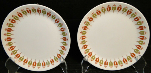"Syracuse Captain's Table Dinner Plates 9 1/2"" Restaurant Ware Set 2 