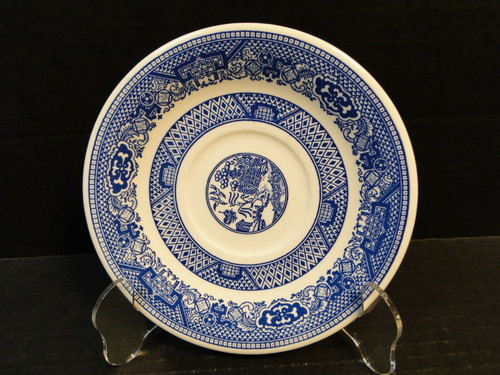Royal China Blue Willow Ware Saucer 6 3/8"
