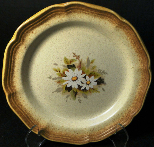 """Mikasa Whole Wheat Loves Me Salad Plate 8"""" E8002 