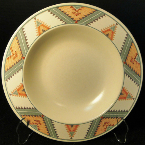 """Mikasa Santa FE Soup Bowl 9 1/4"""" CAC24 Intaglio Southwest Salad 