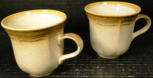 Mikasa Whole Wheat Tea Cups E8000 Set of 2 | DR Vintage Dinnerware and Replacements