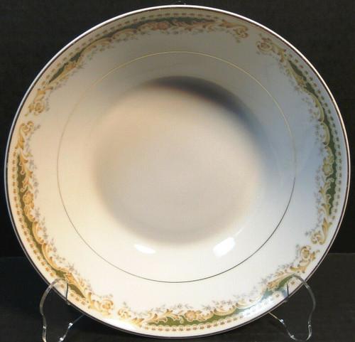 "Signature Collection Queen Anne Vegetable Serving Bowl 9 1/4"" Excellent"