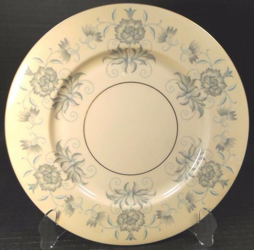 "Castleton China Caprice Salad Plate 8 1/4"" Blue Gray Floral Excellent"