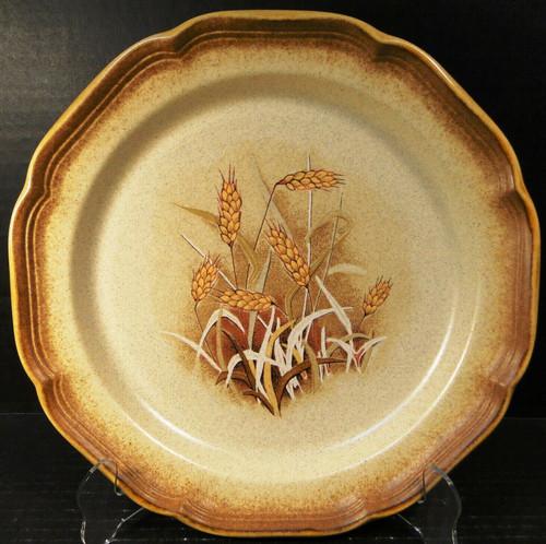 """Mikasa Whole Wheat Granola Dinner Plate 10 3/4"""" E8001 Stoneware Excellent"""
