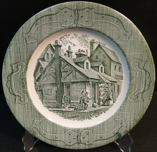 Royal China The Old Curiosity Shop Dinner Plate 10"
