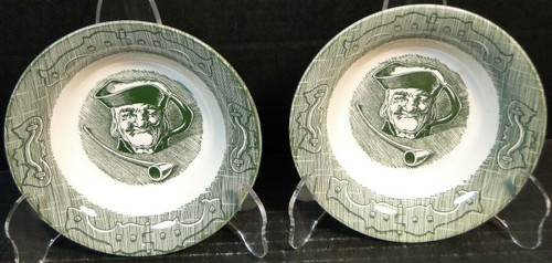 """Royal China The Old Curiosity Shop Berry Bowls Fruit 5 1/2"""" Set of 2 