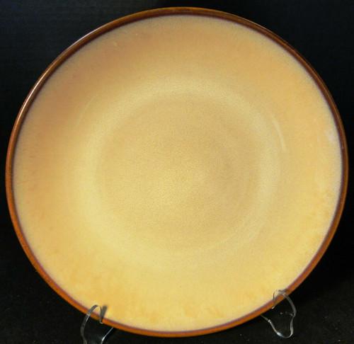 "Sango Nova Brown Dinner Plate 11 1/4"" 4933 Excellent"