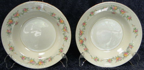Homer Laughlin Eggshell Georgian Countess Soup Bowls Set of 2 | DR Vintage Dinnerware Replacements
