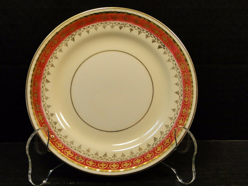 "Homer Laughlin Monarch Bread Plate 6 1/4"" Eggshell Georgian RARE 