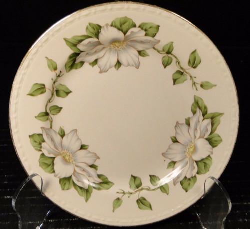"Homer Laughlin Eggshell Georgian Cotillion Bread Plate 6"" | DR Vintage Dinnerware Replacements"