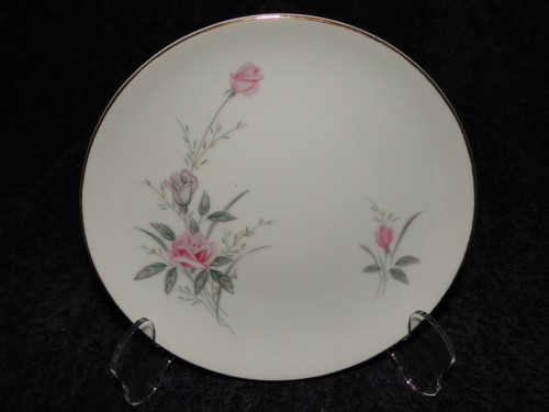 Fine China of Japan Golden Rose Bread Plate 6 1/4"