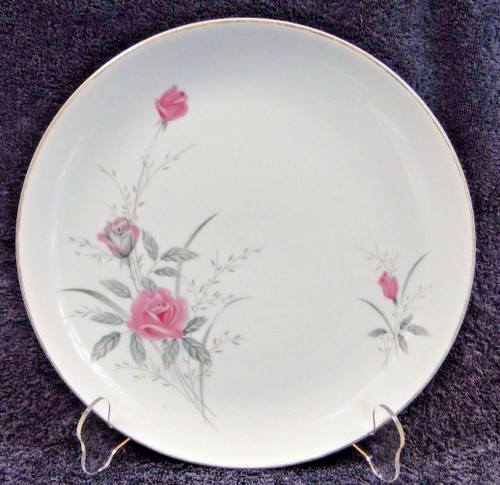 Fine China of Japan Golden Rose Dinner Plate 10 1/4"