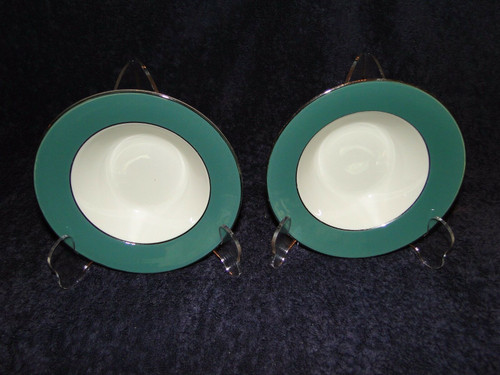"Homer Laughlin Lexington Dessert Bowls 6"" Cavalier Set of 2 