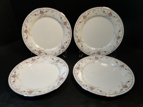 """Noritake Adagio Salad Plates 7237 8 3/8"""" Set of 