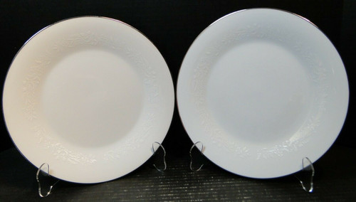 """Noritake Reina Salad Plates 6450 Q 8 1/4"""" Set of 2 