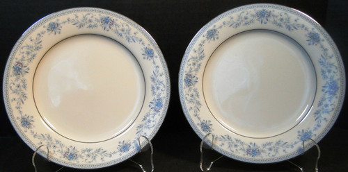 "Noritake Blue Hill Bread Plates 2482 6 1/4"" Set of 2 
