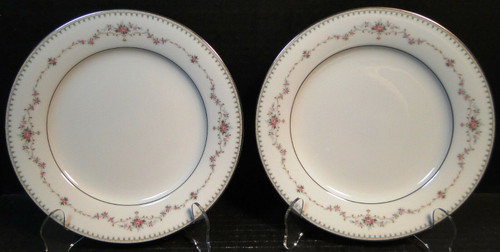 "Noritake Fairmont Salad Plates 6102 8 1/4"" Set of 2 