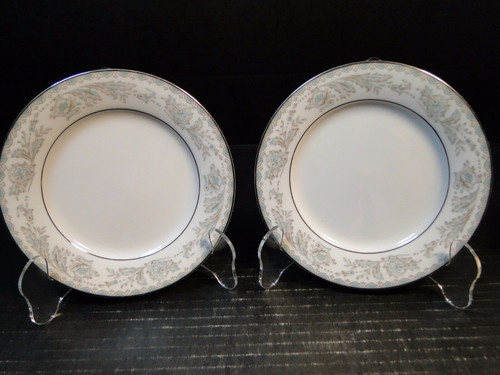 "Noritake Belmont Bread Plates 5609 6 1/4"" Set of 2 