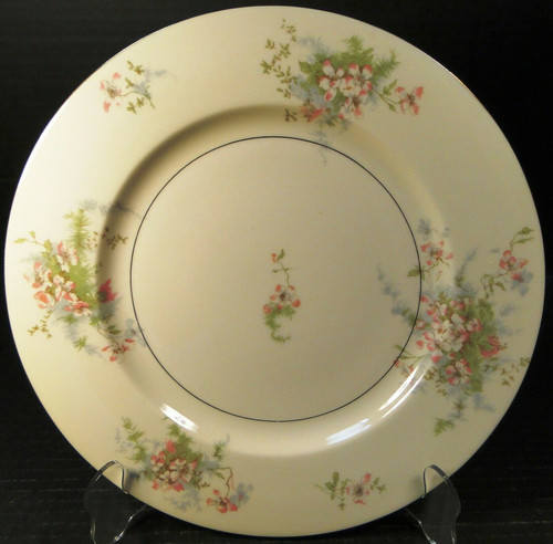 Theodore Haviland NY Apple Blossom Dinner Plate 10 1/8"