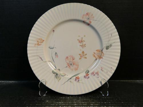 "Mikasa Pink Poppy Dinner Plate 11"" FL 752 Laslo Classic Elegance | DR Vintage Dinnerware Replacements"