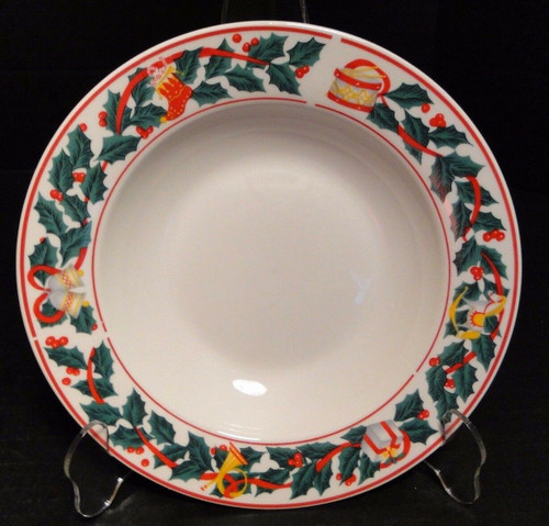"Sango Christmas Morning Soup Bowl Salad Pasta 8 1/2"" 8846 