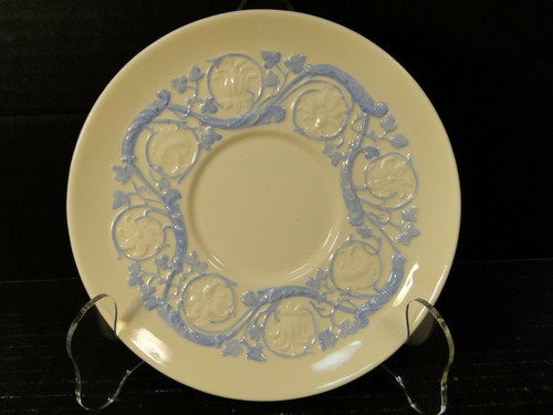 Wedgwood Kingston Blue Patrician Saucer | DR Vintage Dinnerware Replacements