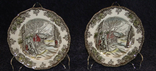Johnson Brothers Friendly Village Sugar Maples Bread Plates| DR Vintage Dinnerware Replacements