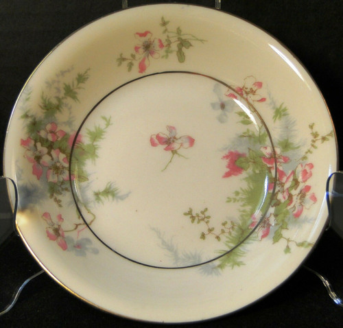 """Theodore Haviland NY Apple Blossom Berry Bowl 5"""" Fruit Dessert 