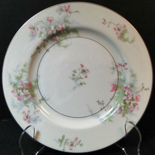 """Theodore Haviland NY Apple Blossom Salad Plate 7 1/2"""" 