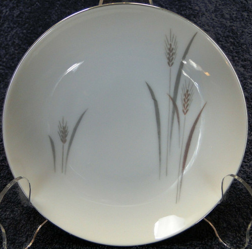 "Fine China of Japan Platinum Wheat Berry Bowl 5 1/2"" Fruit 