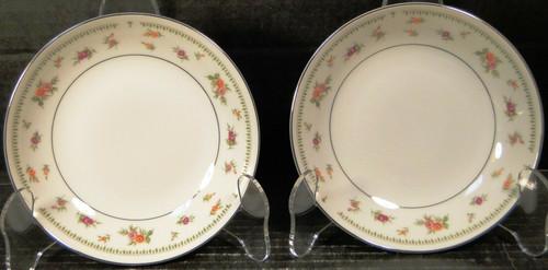 "Abingdon China Berry Bowls 5 5/8"" Fine Porcelain Japan Fruit Set of 2 | DR Vintage Dinnerware Replacements"