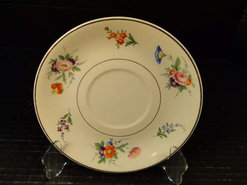 Syracuse China Selma Old Ivory Saucer for Soup Bowl just Saucer | DR Vintage Dinnerware Replacements
