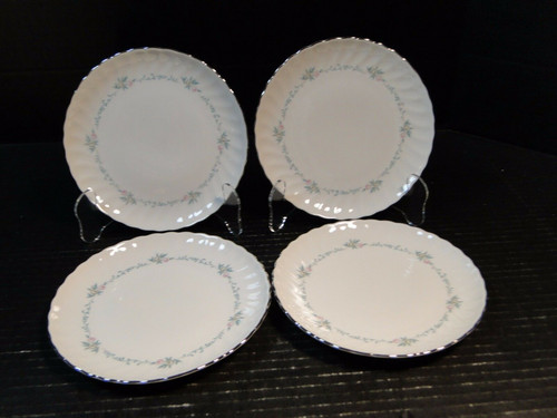"""Syracuse China Sweetheart Bread Plates 6 1/2"""" Set of 4 