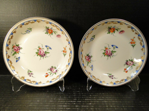 """Syracuse Lady Louise Soup Bowls 7 1/2"""" Set of 2 