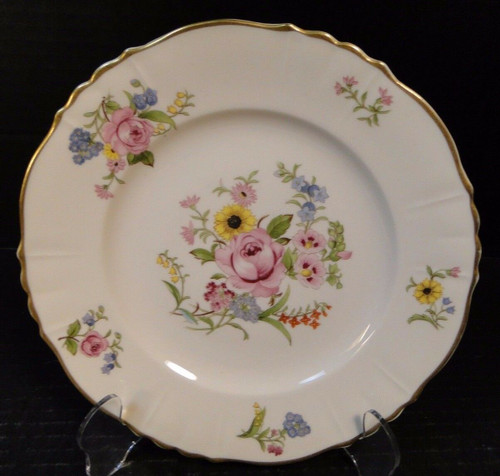 Syracuse China Federal Shape Portland Salad Plates 8 1/8"