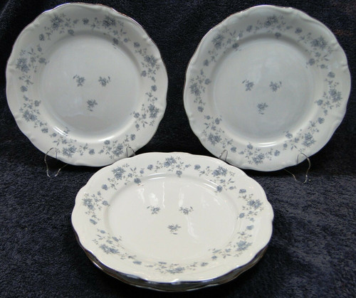 """Johann Haviland Blue Garland Traditions Dinner Plates 10"""" Set of 4 