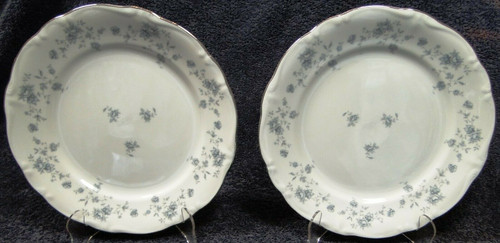 """Johann Haviland Blue Garland Traditions Dinner Plates 10"""" Set of 2 