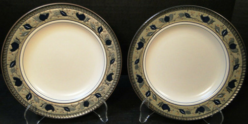 "Mikasa Arabella Salad Plates 8 3/8"" CAC01 Intaglio 