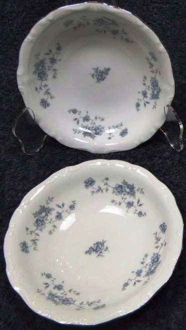 Johann Haviland Blue Garland Traditions Berry Bowls Fruit Set of 2 | DR Vintage Dinnerware Replacements