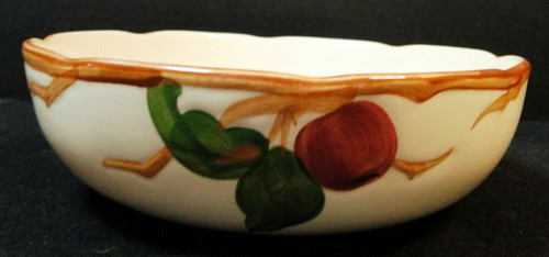 """Franciscan Apple Round Vegetable Serving Bowl 8 3/8"""" USA Stamp 