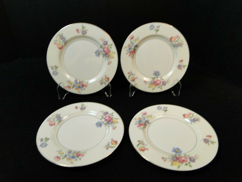 "Theodore Haviland NY Pasadena Salad Plates 7 5/8"" Set of 4 
