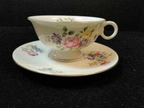 Theodore Haviland NY Pasadena Tea Cup Saucer Set | DR Vintage Dinnerware and Replacements